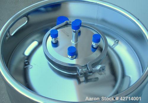 200 Liter Stainless Steel Rutten Engineering Sterile Storage Systems Pressure Ta