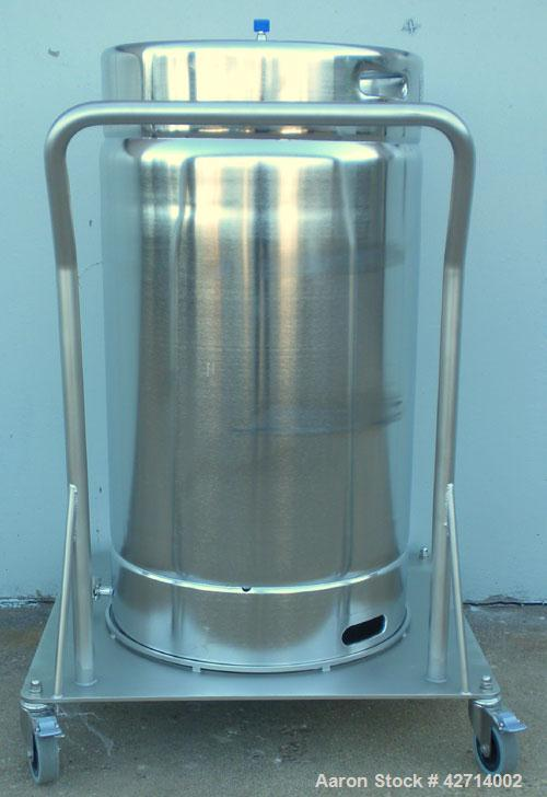 200 Liter Stainless Steel Rutten Engineering Sterile Storage Systems Pressure Ta