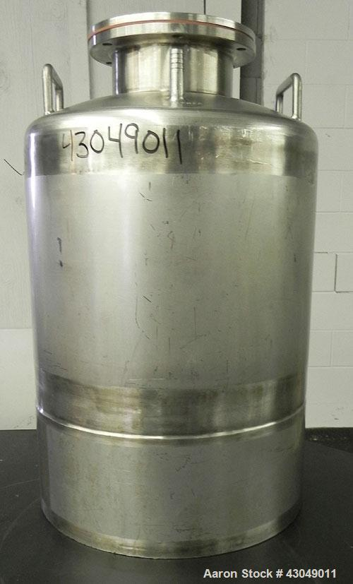 Used- 50 Liter Stainless Steel Northland Stainless Pressure Tank