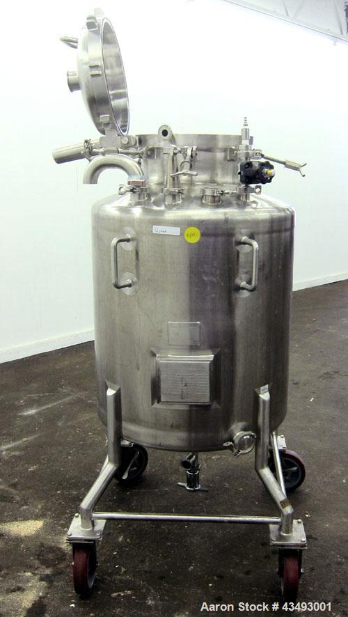 Used- 100 Gallon Stainless Steel Northland Stainless Pressure Tank