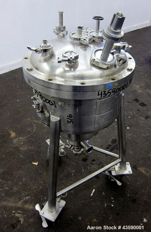 Used- 50 Liter Stainless Steel Allegheny Bradford Pressure Tank