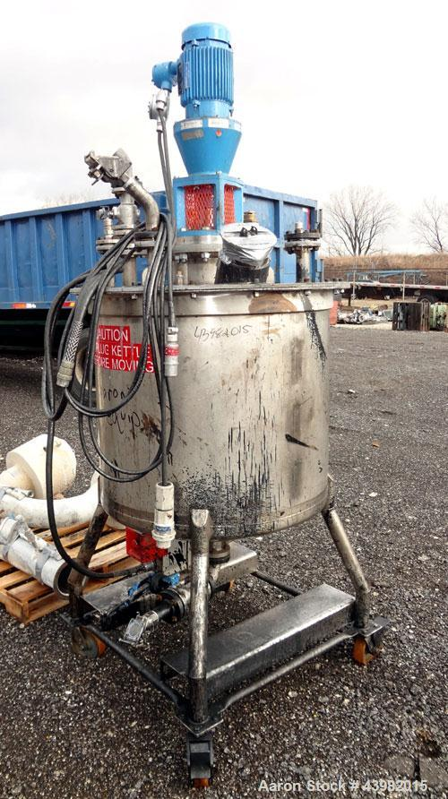 Used- 150 Gallon Stainless Steel Val-Fab Tank