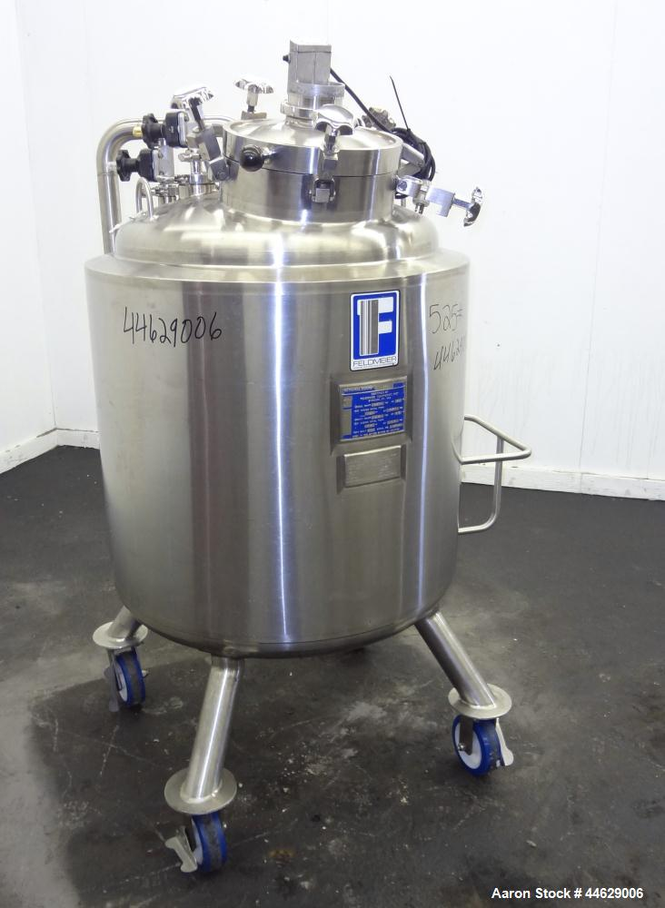 Used-  79 Gallon Stainless Steel Feldmeier Pressure Tank