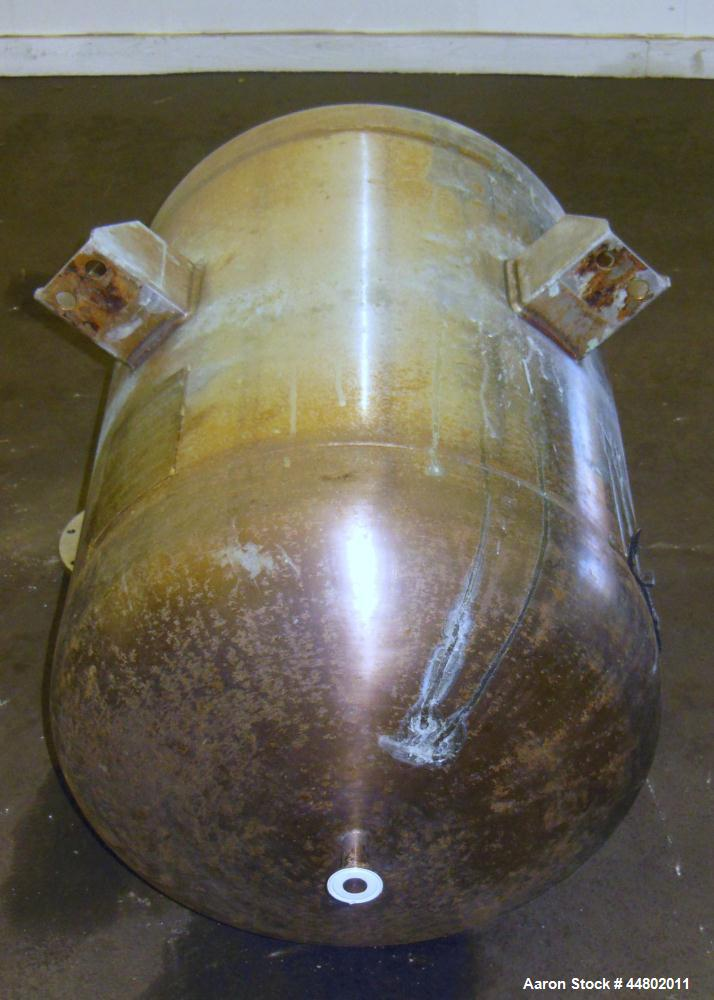 Used- 250 Liter Stainless Steel Meyer Tool & Manufacturing Pressure Tank