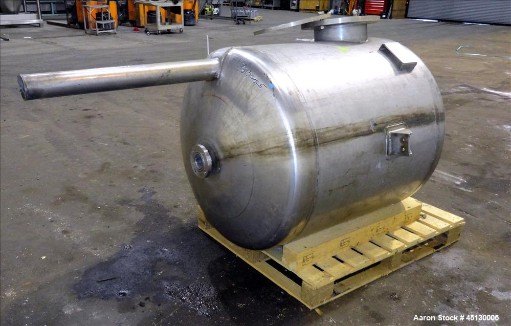 Used- 265 Gallon Stainless Steel Services LTD Tank