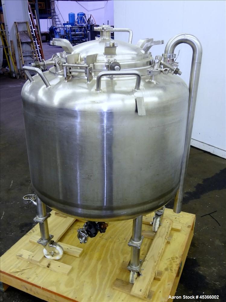 Used- 100 Gallon Stainless Steel Letsch Pressure Tank