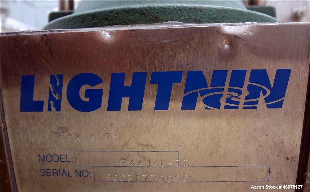 "Used- Tank, 225 Gallon, 304 Stainless Steel, Vertical. Approximate 36"" diameter x 48"" straight side, dished top & bottom. Li..."
