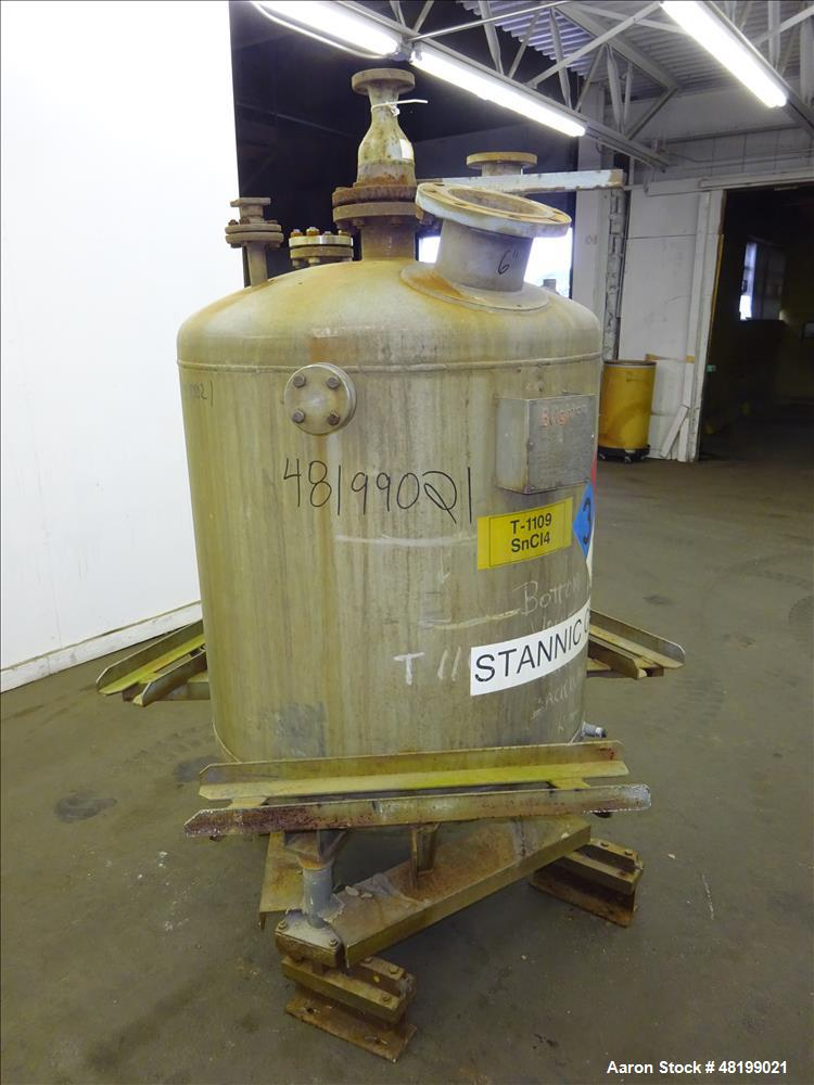 Used- Brighton Tank, Approximate 150 Gallon, 304 Stainless Steel, Vertical.