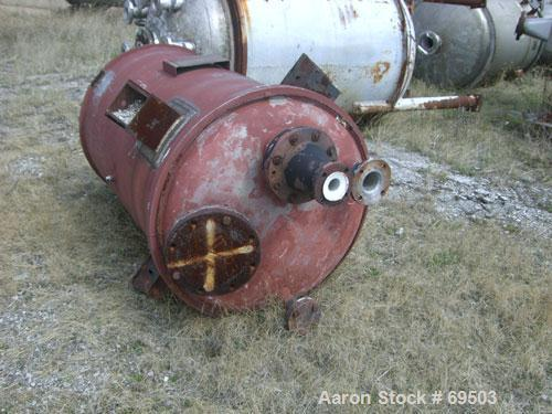 "Used- Missouri Boiler Pressure Tank, 250 Gallon, 316 Stainless Steel, Vertical. 36'' diameter x 56"" straight side. Dished to..."