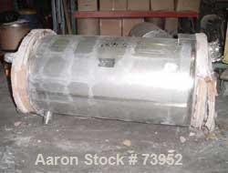 "Used- Walker Stainless Pressure Tank, 290 Gallon, 316L Stainless Steel, Vertical. 36"" diameter x 60"" straight side, dished t..."