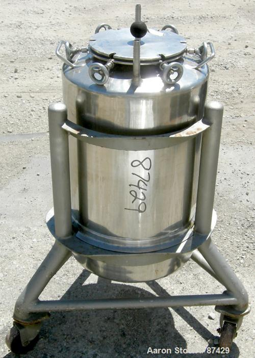 Used- Groen Tank, 18 Gallon, 316 Stainless Steel