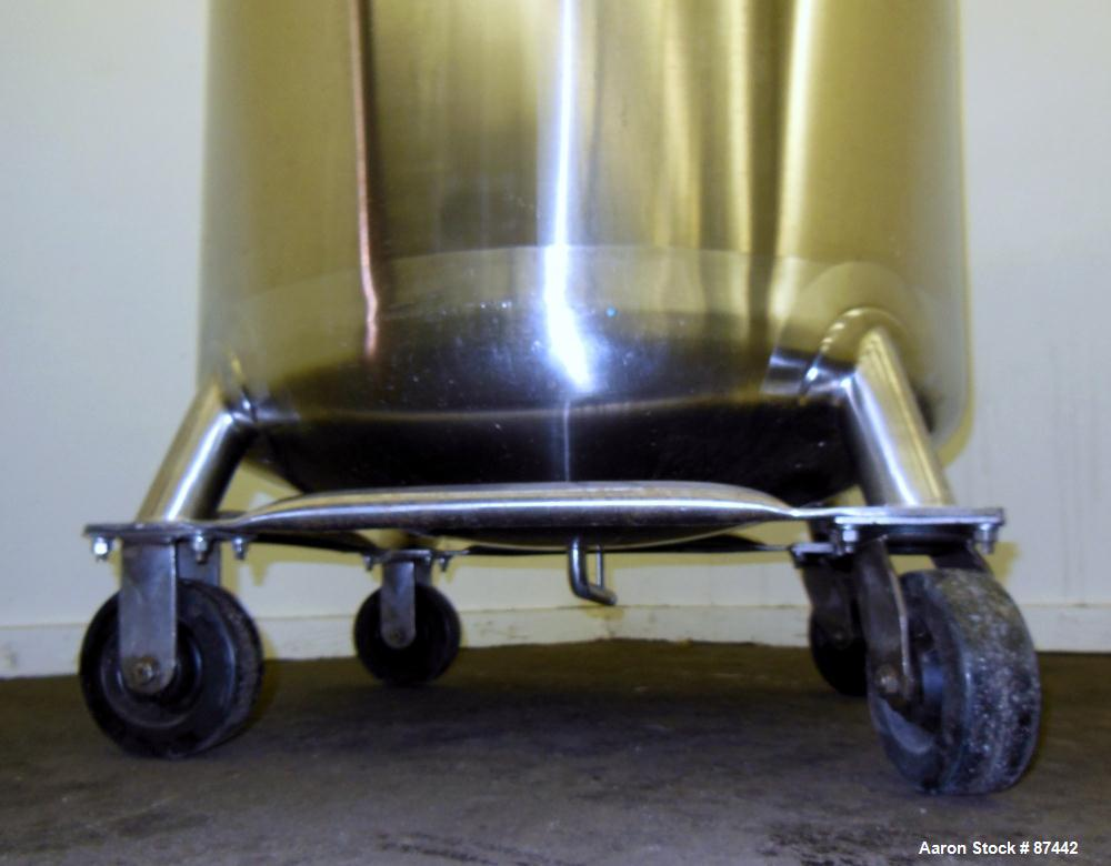 Used- 400 Liter Stainless Steel Walker Stainless Pressure Tank