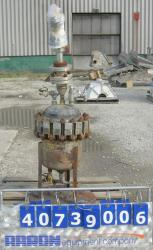 Used- 8 Gallon Stainless Steel Turbo Machine Company Pressure Tank