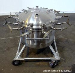 Used- 26.4 Gallon Stainless Steel Precision Stainless Pressure Tank