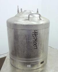 Used- 22 Gallon Stainless Steel Alloy Products Pressure Tank