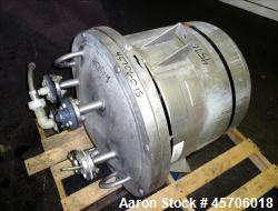 Lee Industries Pressure Tank, 45 Gallon, Model 45DBT, 316 Stainless Steel, Vertical. Approximate 24...