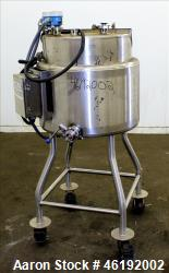 "Tank, Approximately 30 Gallon, 304 Stainless steel. 23-1/2"" Diameter x 16"" straight side, insulated..."