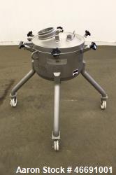 "Mueller 60 Liter (15.8 Gallon) Tank, 316 Stainless Steel, Vertical. Approximate 20"" diameter x 12"" ..."