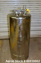 Used- Alloy Products Pressure Tank, 125 Liter (33 Gallon), 316L Stainless Steel,
