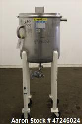 "Used- Mueller Tank, Model ""F"", 50 Gallon, 316 Stainless Steel, Vertical."