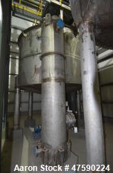 "Unused- SGS St. George Steel API Standard 650 Tank, 250 Gallon, 316 Stainless Steel, Vertical. Approximate 24"" Diameter x 13..."