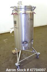 "Lee Industries Pressure Tank, 41 Gallon, Model 41DBT, 316L Stainless Steel, Vertical. 18"" Diameter ..."