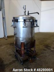 Used- Kettle, Approximately 110 Gallon, 316 Stainless steel, Vertical.
