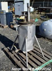 Used- Tank approximate 10 gallon stainless steel.