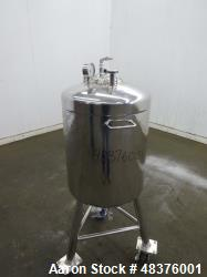 Used-Alloy Products 25 Gallon Stainless Steel Pressure Tank