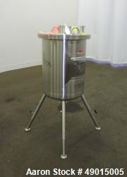 Used- Northland Stainless Tank, Approximately 9 Gallon, 316 Stainless Steel, Ver
