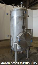 Unused- Buckeye Fabricating Company Pressure Tank, Approximately 317 Gallon, 304