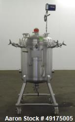 Used- Precision Stainless Pressure Tank, 52.8 Gallon (200 Liter), 316L Stainless