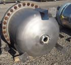 Used- Four Corp Pressure Tank, 150 gallon, 316L stainless steel, vertical. 36