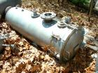 Used- Designers Fabricators tank, 80 gallon, stainless steel, vertical. 20