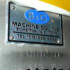Used- B & G tank, 400 gallon, stainless steel. 48