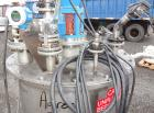 Used- Val-Fab Tank, 150 Gallon, 316L Stainless Steel, Vertical. 36