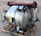 Used- Eastern Manufacturing Pressure Tank, 150 Gallon, 316L Stainless Steel, Vertical. Approximate 40