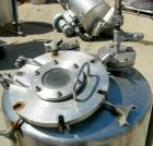 Used- Groen Pressure Tank, 60 Gallon, 316 Stainless Steel, Vertical. 24
