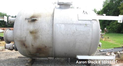4000 Gallon Stainless Steel Norit Tank