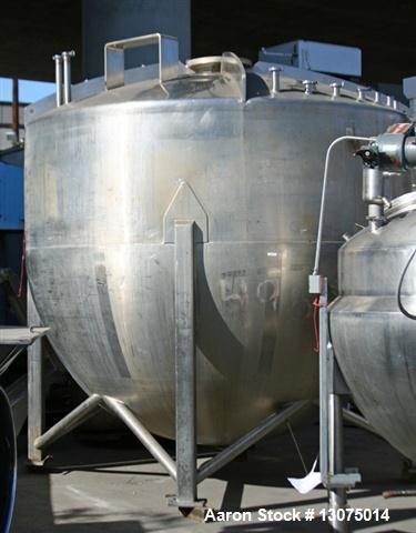 Used- Mueller 4,000 Gallon Mixing Tank