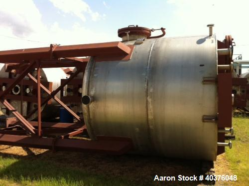 4200 Gallon Stainless Steel Tank