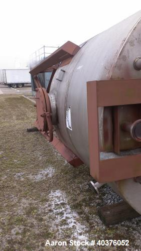 "Unused- 4200 Gallon, 316 Stainless Steel, Vertical Tank. 9' Diameter x 8' straight side. Design pressure -5"" WC to +10"" WC. ..."