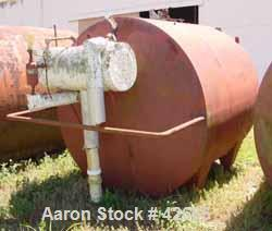 """USED:Cherry Burrell kettle, 2000 gallon, stainless steel, horizontal.Approx 84"""" diameter x 80"""" straight side, dished ends. J..."""