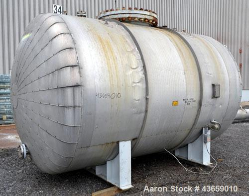 Used- 4700 Gallon Stainless Steel Arrow Tank & Engineering Pressure Tank