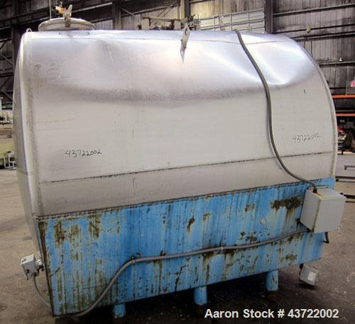 Used- 2700 Gallon Stainless Steel Tank