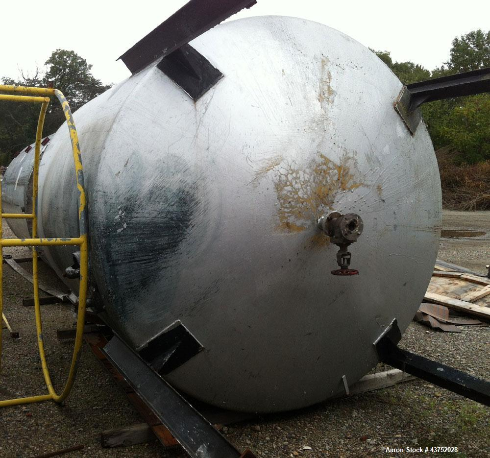 Used- 4500 Gallon Stainless Steel Tank