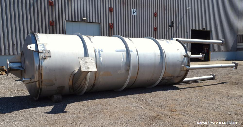 3940 Gallons Stainless Steel Northland Stainless Pressure Tank