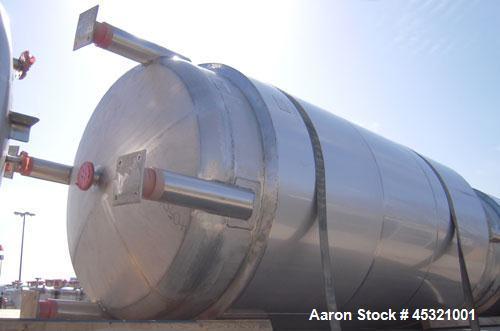 "2500 Gallon Stainless Steel Mueller Pressure Tank, Model ""F"""