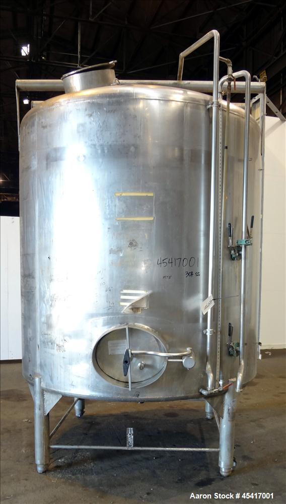 Used- 2000 Gallon Stainless Steel Crepaco Tank