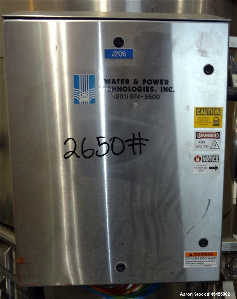 Used- 1500 Gallons Stainless Steel Optimum Filter Pressure Filter Tank